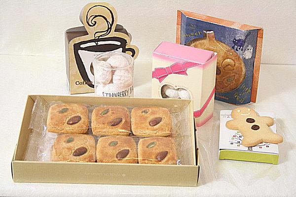 OEM菓子 型抜きのクッキー以外にボール状に成形したクッキーや粉糖をまぶしたクッキ... OEM